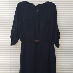 Skies are Blue belted dress